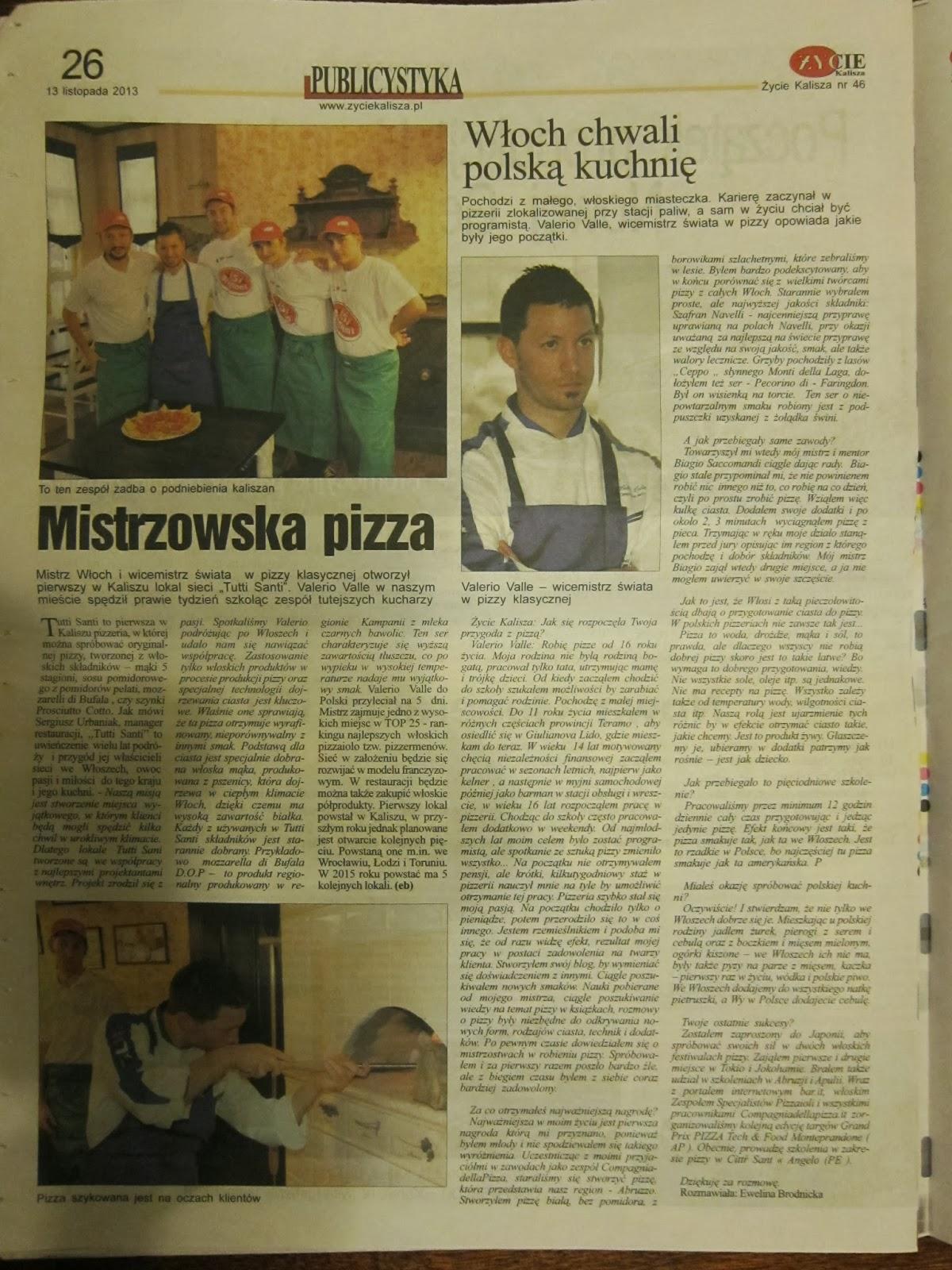 Mistrzowska pizza