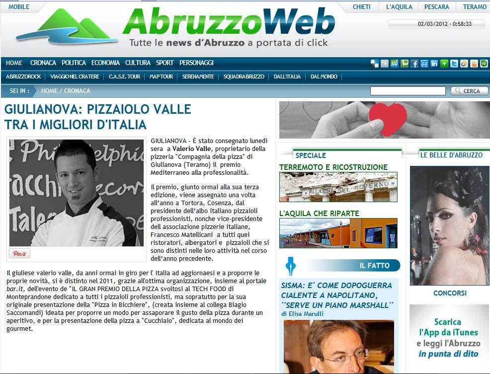 Giulianova: Pizzaiolo Valle tra i migliori d'Italia